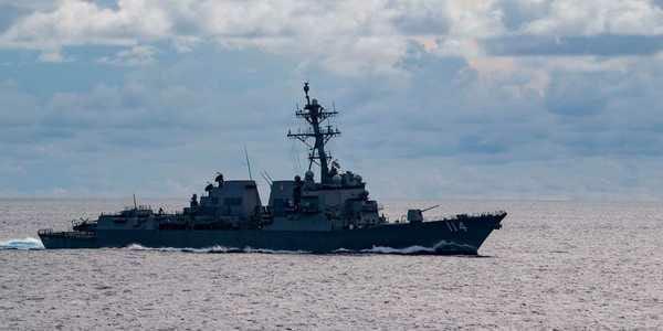 US warship, South China Sea