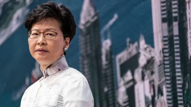 US sanctions Hong Kong Chief Executive Carrie Lam and 10 others