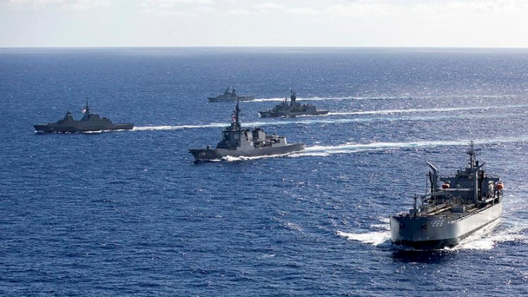 US begins RIMPAC 2020 exercise amid growing China threat; Australia, France & 8 other nations participate