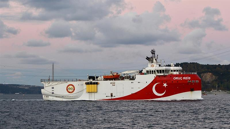 Turkey threatens UAE and European nations over the Mediterranean Sea