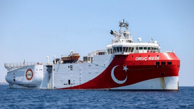 Turkey-Greece tensions escalate over disputed claims in Mediterranean Sea