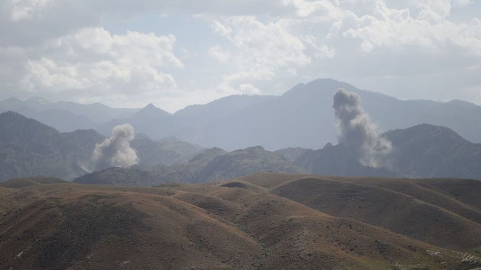 40-plus Taliban killed in retaliatory air raids by Afghan forces amid peace talks