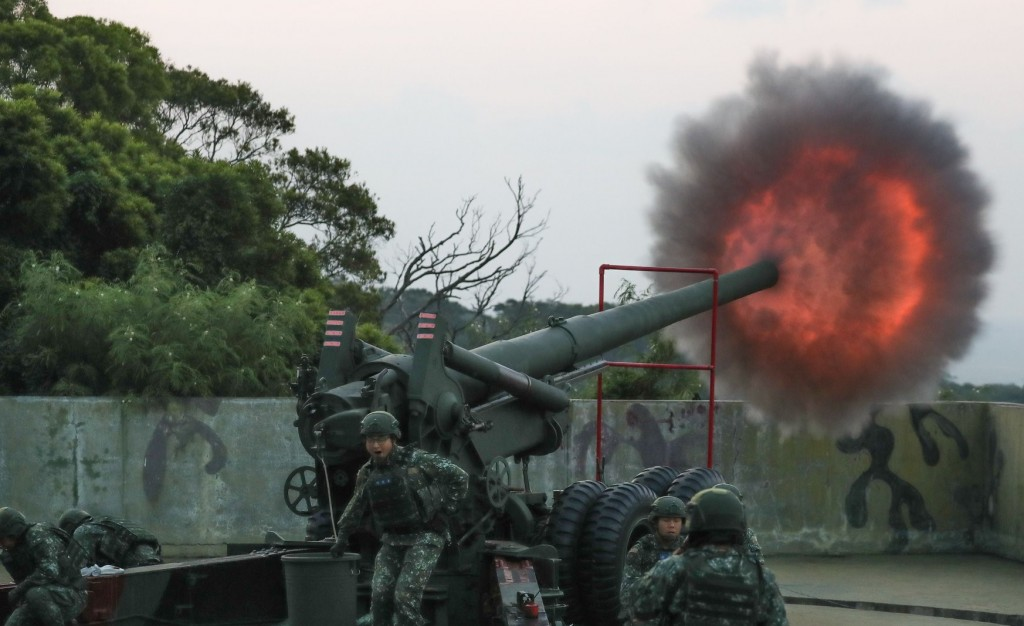 Taiwan carries out live-fire drills amid growing incursions from Chinese fighter jets