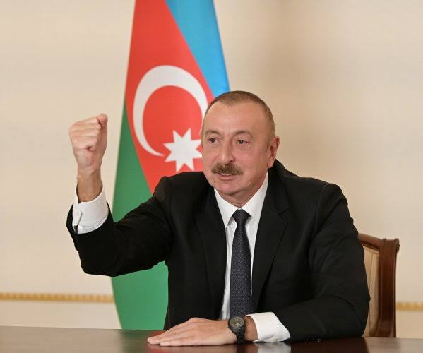 Azerbaijan will continue by any means to take control of Nagorno-Karabakh: President Ilham Aliyev