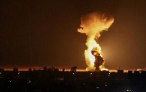 Hamas, हवाई कारवाई