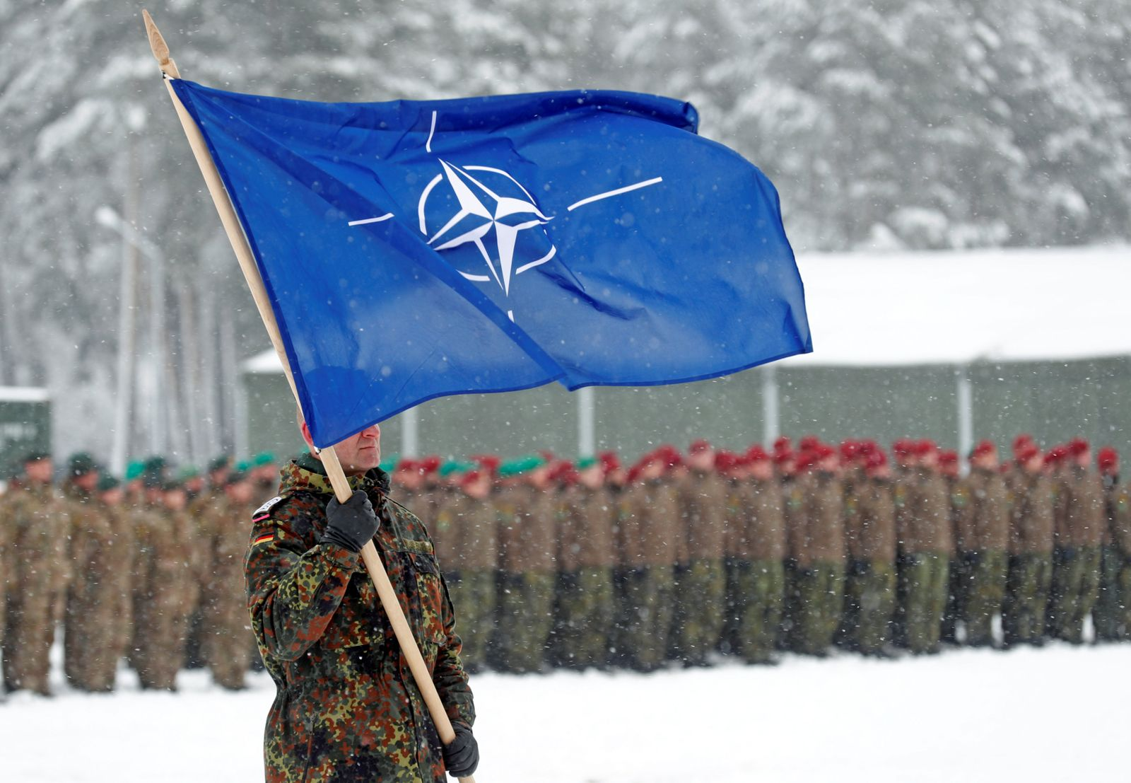 Relations between NATO and Russia are at their lowest with a growing risk of military conflict, a European think tank warns