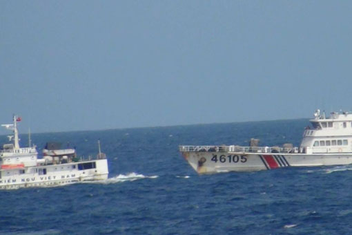 Coast Guard, military action, People's Liberation Army, South China Sea, cooperate, China, Spratly, TWW, Third World War