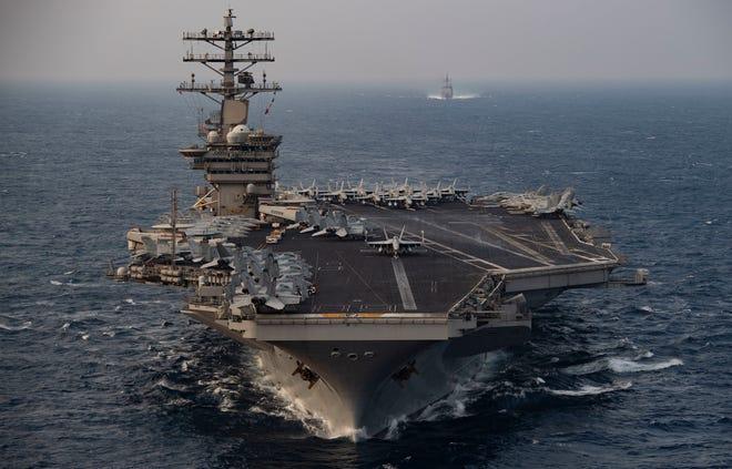 विमान वाहक युद्धपोत 'निमित्ज़' पर्शियन खाड़ी में ही तैनात रहेगी – अमरिकी रक्षामंत्री क्रिस्टोफर मिलर