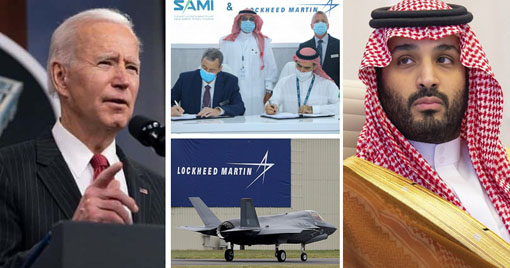 US firm Lockheed Martin signs a defence deal with Saudi despite Biden's announcement to stop arms sales