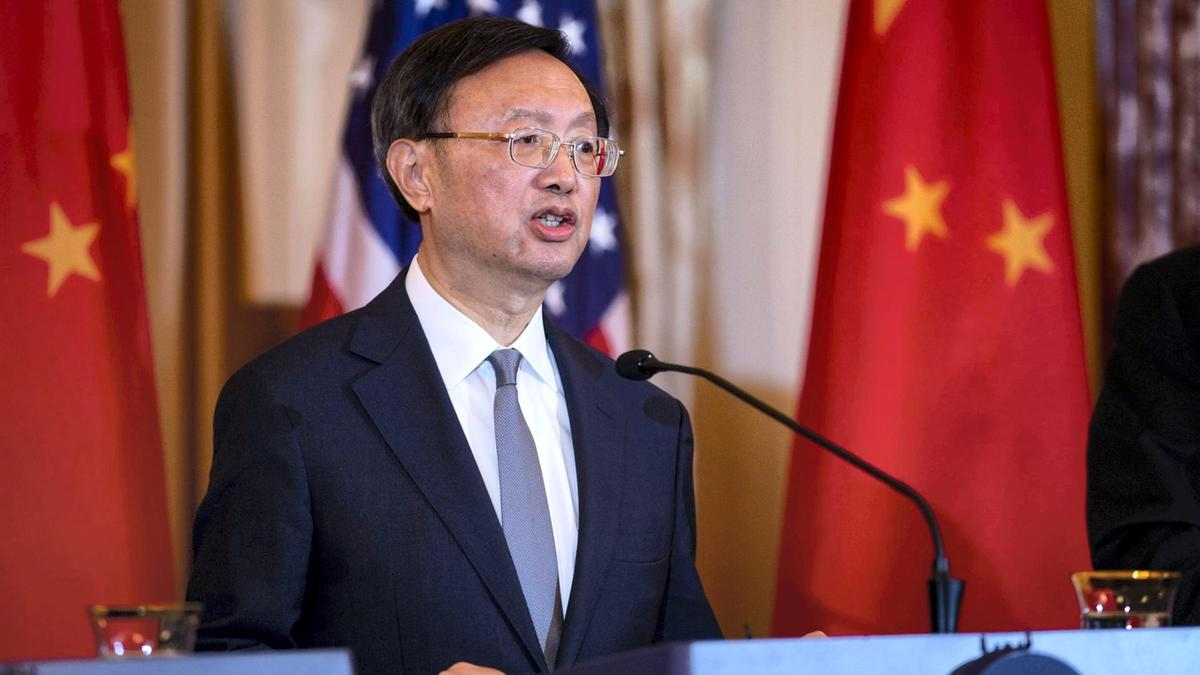 China's top diplomat, Yang Jiechi, warns Biden administration not to cross 'red line'
