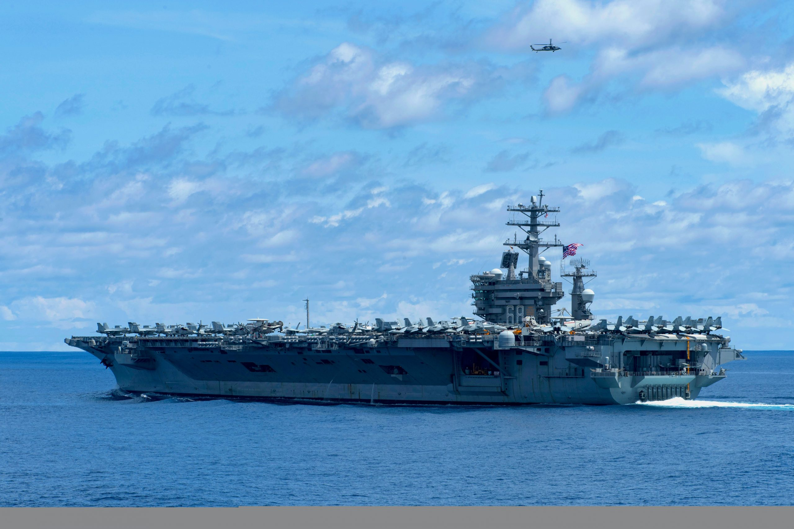 US nuclear aircraft carrier USS Nimitz enters Indo-Pacific region