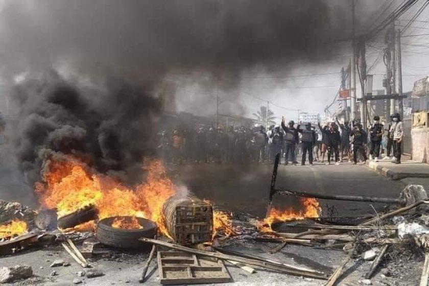 प्रदर्शनकारियों पर म्यानमार के लष्कर ने की कार्रवाई में ९१ लोगों की मृत्यु