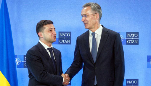 Ukraine, NATO announce joint military drills to counter rising Russian military activity