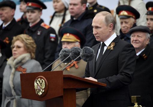 व्लादिमिर पुतिन, हितसंबंधांचे रक्षण, व्हिक्टरी डे, नाझी, ग्वाही, रशिया, TWW, Third World War