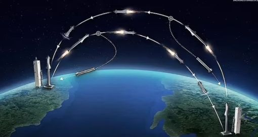 US prepares to use rockets for military transport