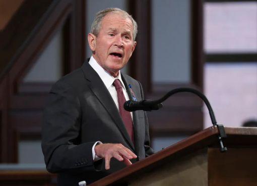Taliban will slaughter, राष्ट्राध्यक्ष बुश,पूर्व राष्ट्राध्यक्ष बुश
