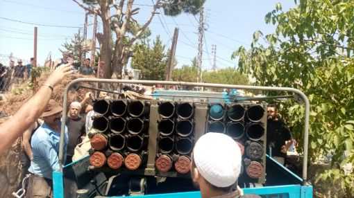 Israel launches retaliatory airstrikes against Lebanese rocket attacks