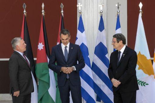 Greece, Jordan and Cyprus warn Turkey over Mediterranean tension