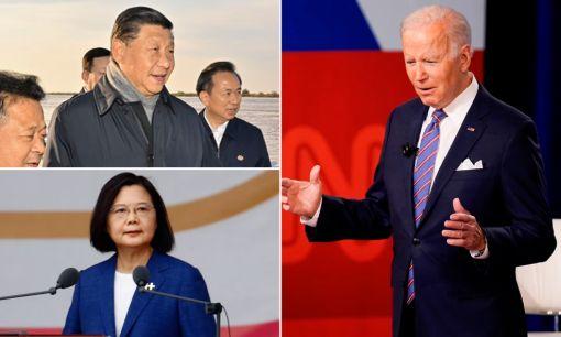 ताइवान के मुद्दे पर चीन समझौता नहीं करेगा – ताइवान की सुरक्षा की गारंटी दे रहें अमरीका के राष्ट्राध्यक्ष को चीन का इशारा
